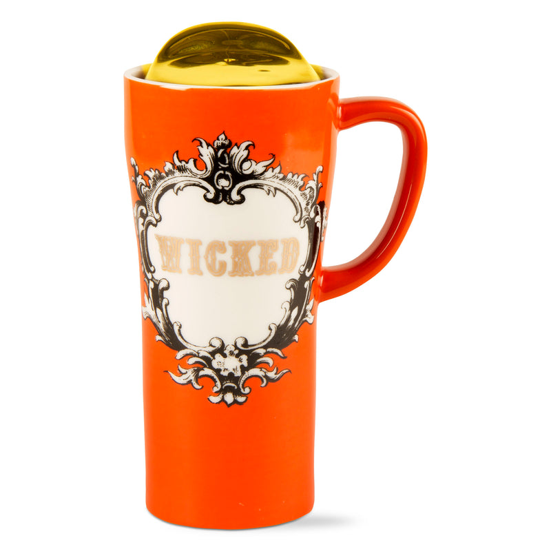 """Wicked"" Travel Mug with Handle"