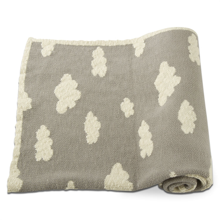 Grey Cloud Baby Blanket, EB-Elegant Baby, Putti Fine Furnishings