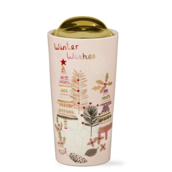 """Winter Wishes"" Travel Mug"