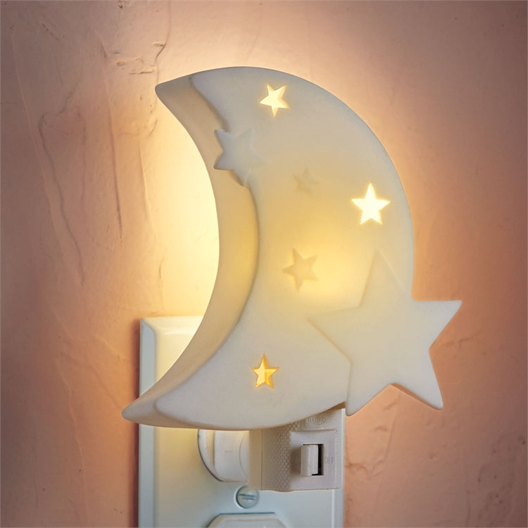 "Tag ""To the Moon"" LED Nite Light  - Putti Fine Furnishings Canada"