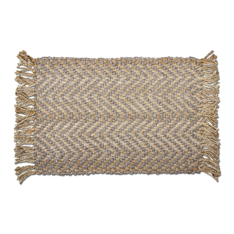 Jute Chevron Fringe Rug, TAG-Design Home Associates, Putti Fine Furnishings