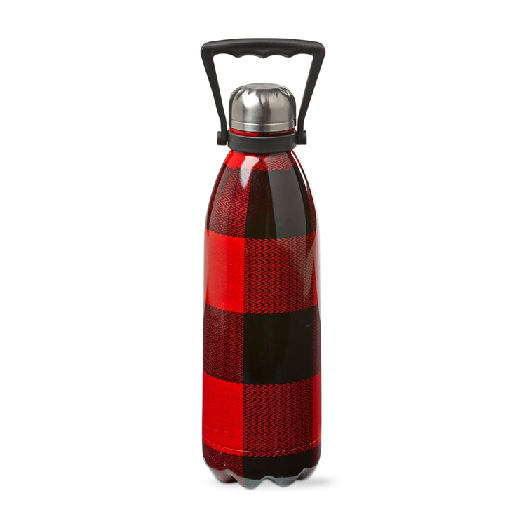 Buffalo Check 1.5 liter stainless steel bottle
