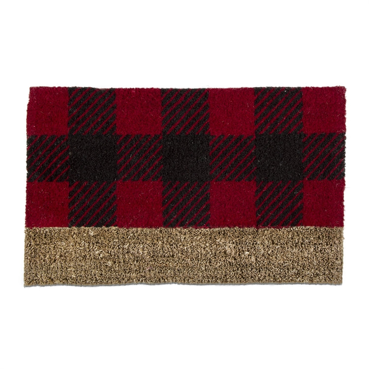 Buffalo Check Coir Doormat