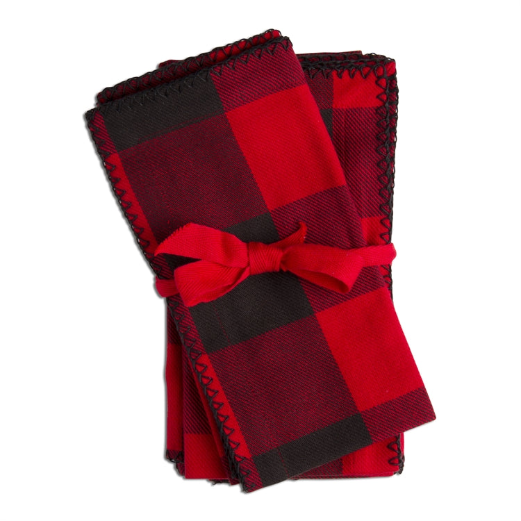 Lodge Buffalo Check Napkin set of 4
