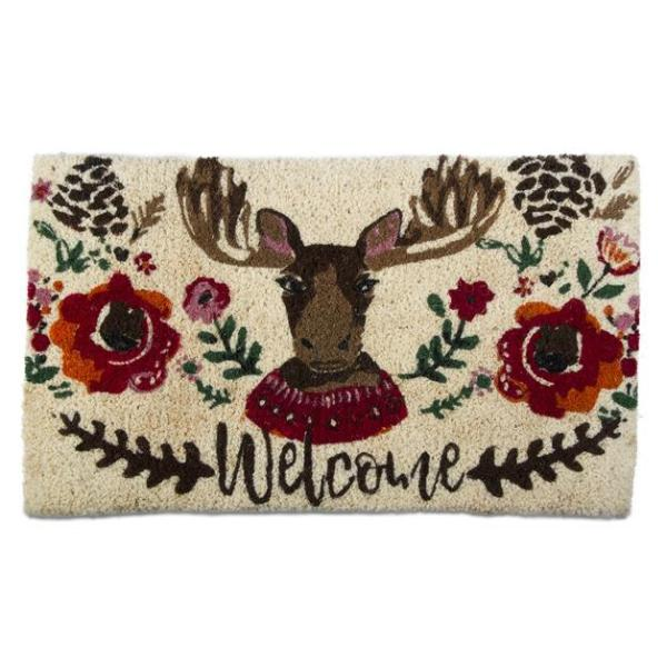 Happy Moose Coir Doormat