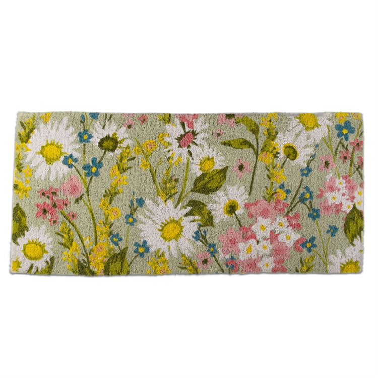 Daisy Floral Estate Coir Doormat