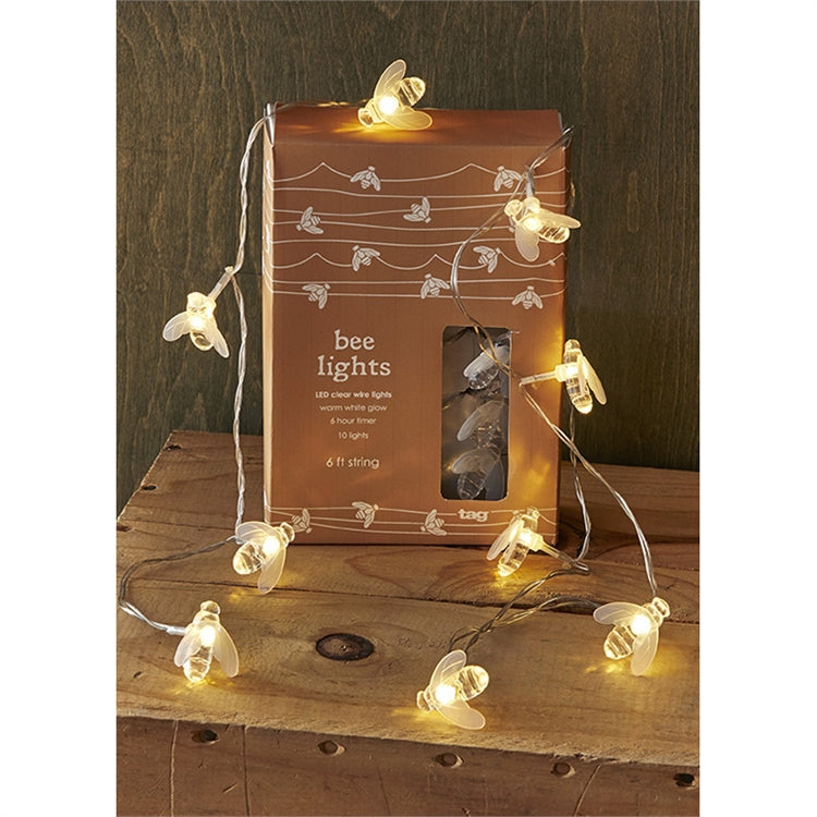 LED Bee String Lights | Putti Fine Furnishings