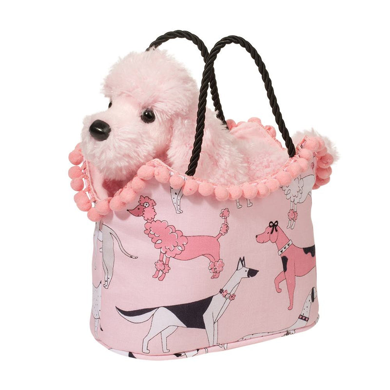 Douglas Stepping Out Sak with Pink Poodle | Le Petite Putti Canada