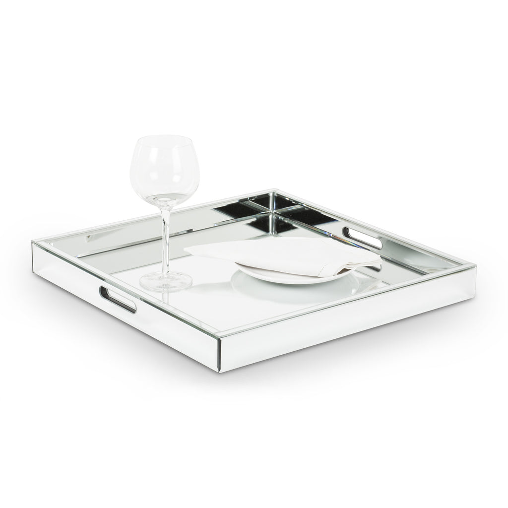 Square Mirror Tray -  Accessories - Abbot Collection - Putti Fine Furnishings Toronto Canada - 1