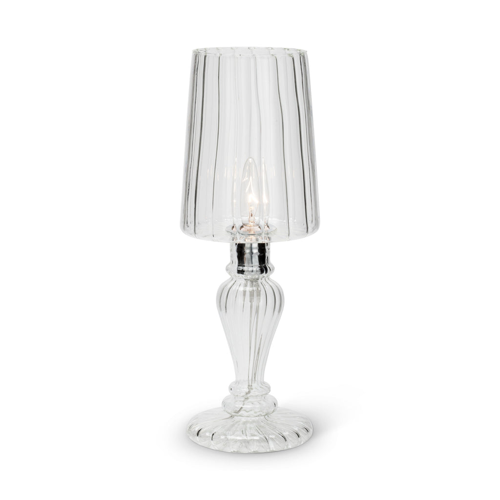 Venetian Style Glass Lamp - Small -  Lighting - Abbot Collection - Putti Fine Furnishings Toronto Canada - 3