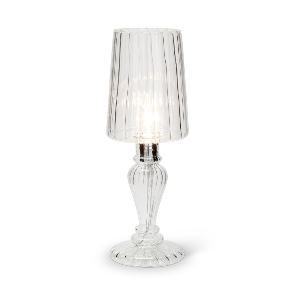 Venetian Style Glass Lamp - Small -  Lighting - Abbot Collection - Putti Fine Furnishings Toronto Canada - 2