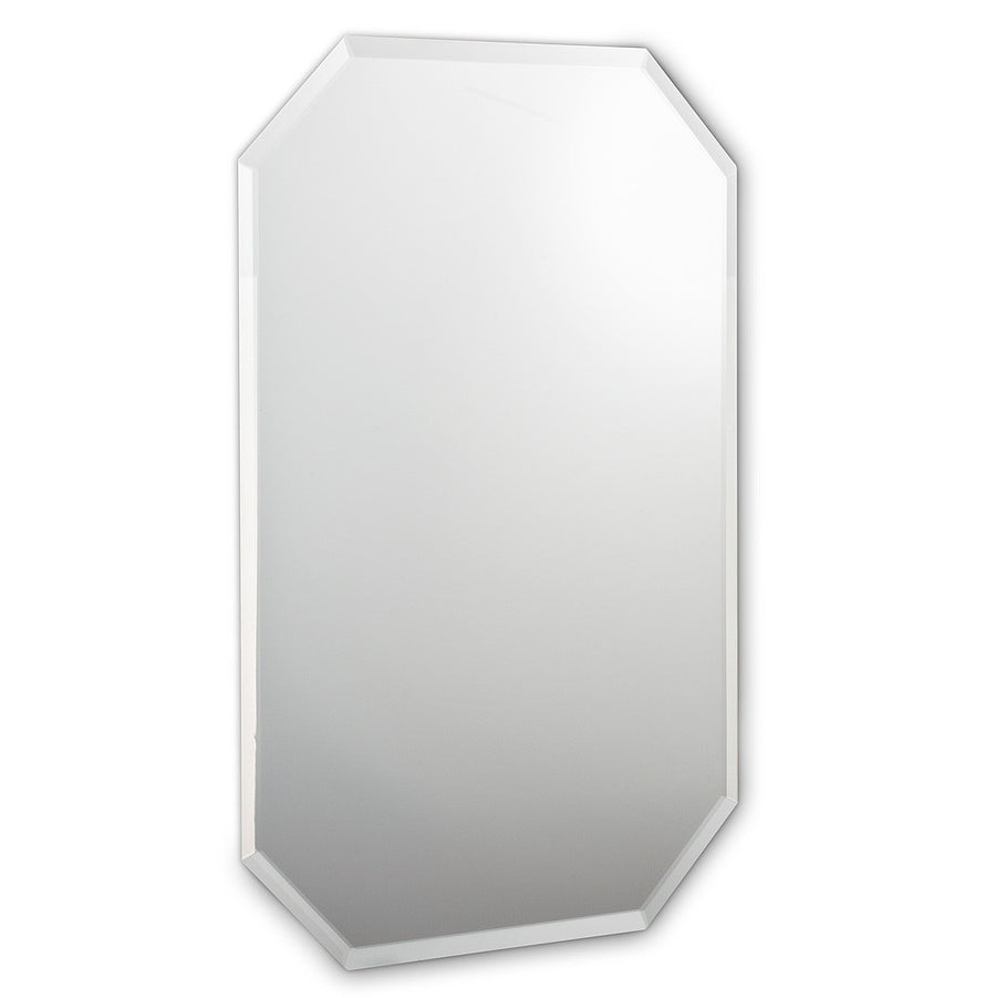 8 Sided Mirror with Bevel - Large