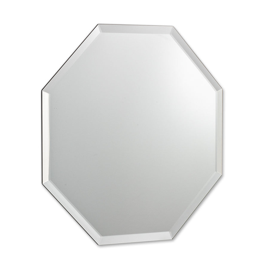 8 Sided Mirror with Bevel - Small