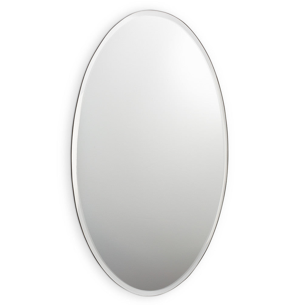 Oval Mirror with Bevel - Large -  Accessories - AC-Abbot Collection - Putti Fine Furnishings Toronto Canada
