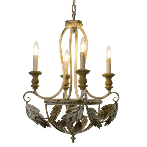 Empire Leaf Chandelier-Lighting-IT-Indaba Trading-Putti Fine Furnishings