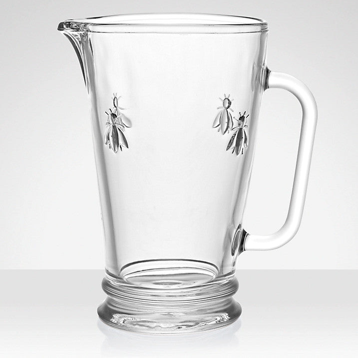 La Rocher Abeilles Pitcher-Glassware-PG-Premier Gift -La Rochere-Putti Fine Furnishings