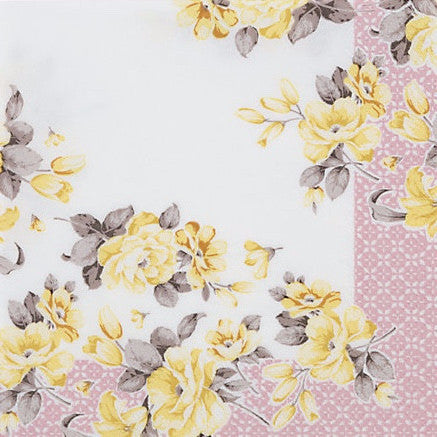 Truly Scrumptious Floral Luncheon Napkins -  Party Supplies - Talking Tables - Putti Fine Furnishings Toronto Canada - 1