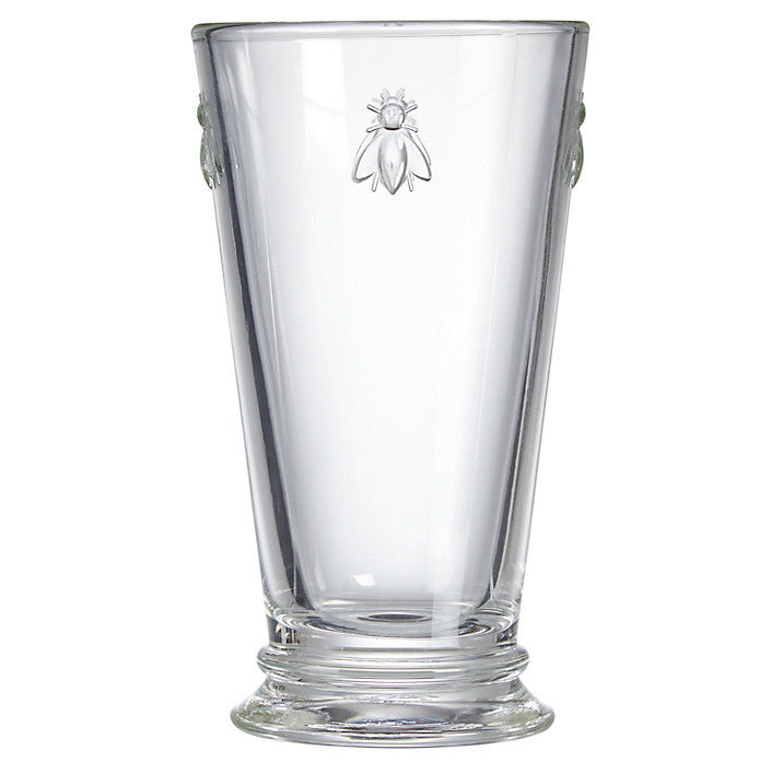 La Rocher Abeilles Long Drink Glass 16oz, PG-Premier Gift -La Rochere, Putti Fine Furnishings