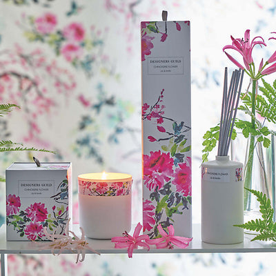 Designers Guild Candle - Chinoiserie Flower Lily and Vanilla, DG-Designers Guild, Putti Fine Furnishings