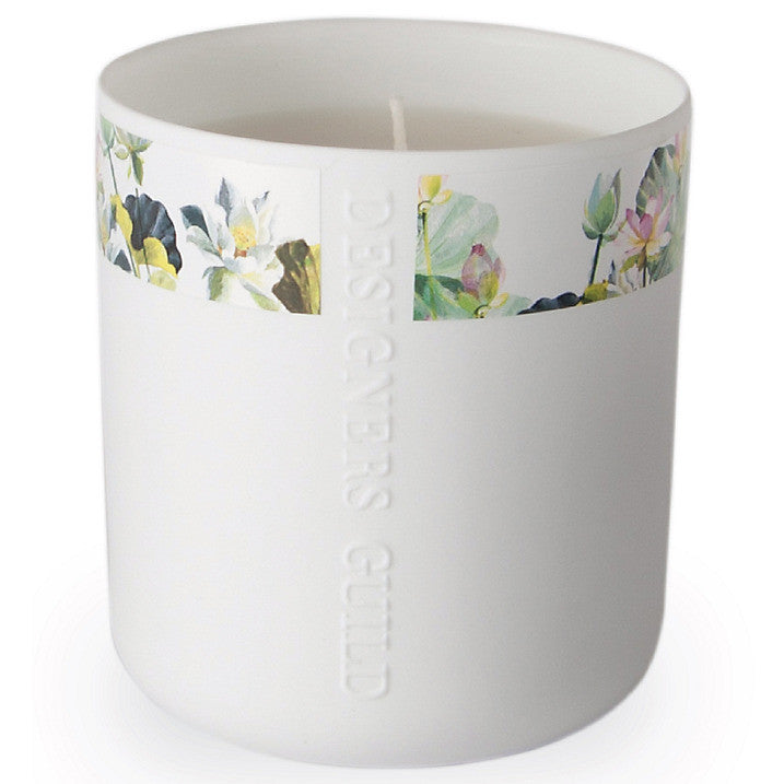 Designers Guild Candle - Nymphaea Sweet Pea and Sandalwood, DG-Designers Guild, Putti Fine Furnishings