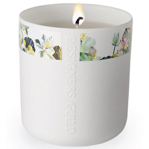 Designers Guild Candle - Nymphaea Sweet Pea and Sandalwood