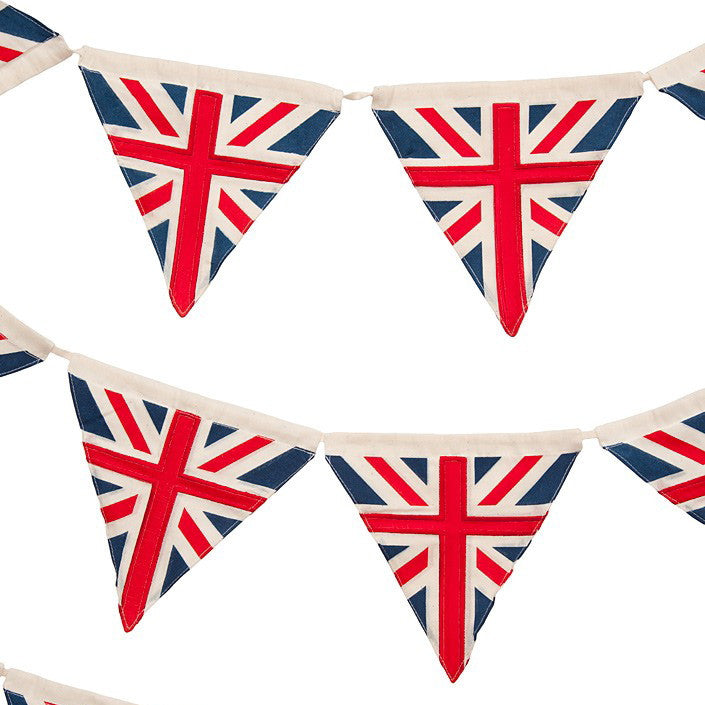 Vintage Union Jack Bunting, PC-Powell Craft Uk, Putti Fine Furnishings