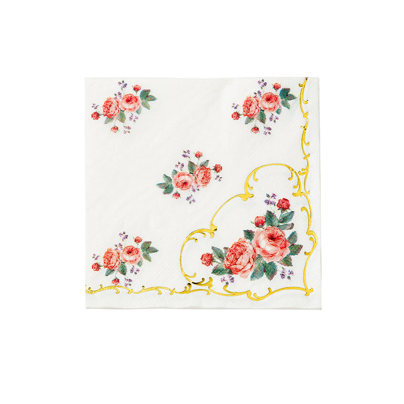 Truly Chintz Paper Napkins - Lunch