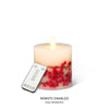 """Reallite"" Flameless Small Red Berry Candle 