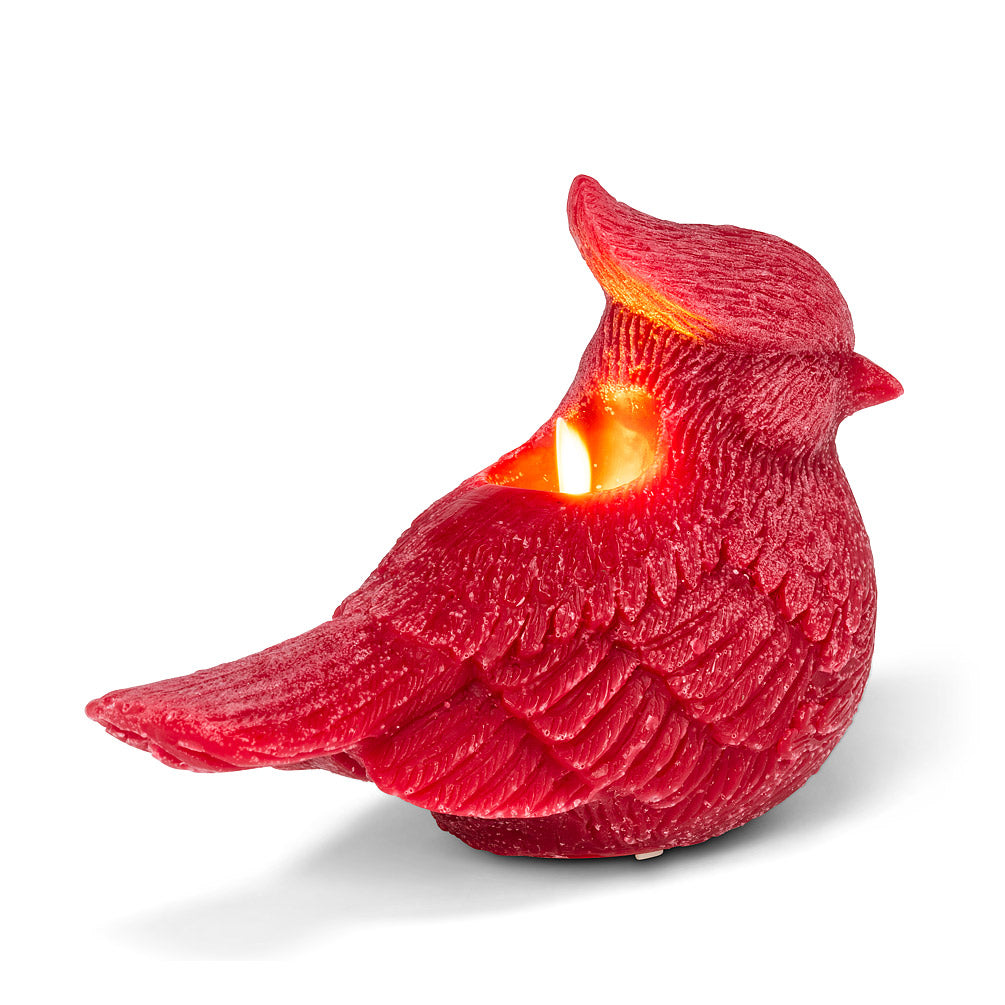 """Reallite"" Flameless Cardinal Candle 