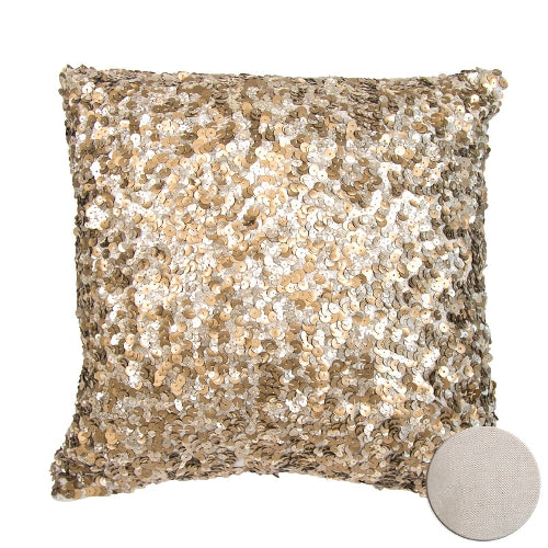 Artebene Sequin Pillow - Gold