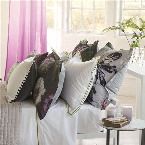"Designers Guild Alexandria Amethyst Bedding-Bedding-DG-Designers Guild-European Sham 26"" x 26"" ( 65 x 65cm )-Putti Fine Furnishings"
