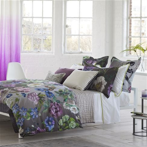 "Designers Guild Alexandria Amethyst Bedding-Bedding-DG-Designers Guild-Standard Pillow Case 20"" x 26"" ( 50 x 65cm )-Putti Fine Furnishings"