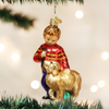 Old World Christmas Boy with Dog Glass Ornament -  Christmas Decorations - Old World Christmas - Putti Fine Furnishings Toronto Canada - 2
