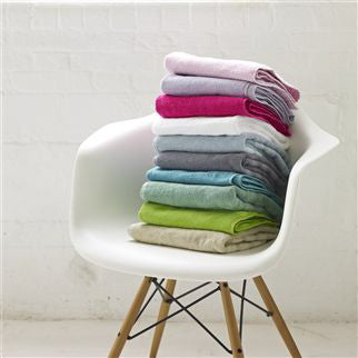 Designers Guild Coniston Parchment Towels -  Towel - Designers Guild - Putti Fine Furnishings Toronto Canada - 3