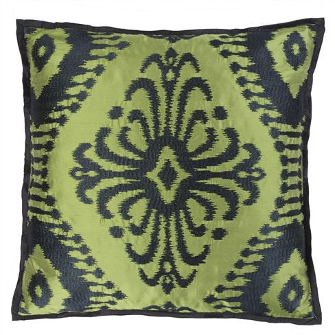 Designers Guild Pashan Grass Throw Pillow Sale -50%-Pillow-DG-Designers Guild-Grass-Putti Fine Furnishings