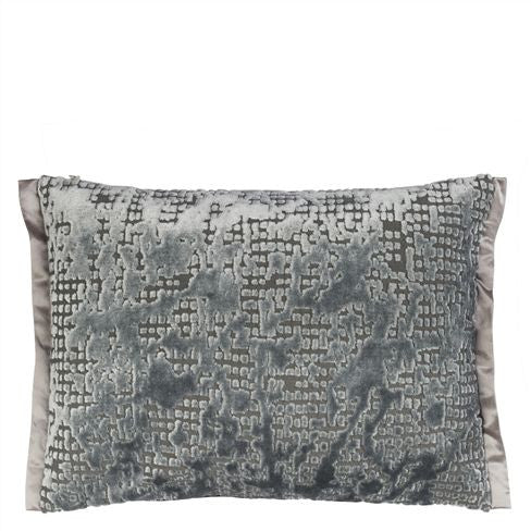 Designers Guild Boratti Graphite Throw Pillow-Pillow-DG-Designers Guild-Graphite-Putti Fine Furnishings