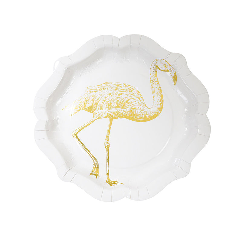 Party Porcelain Curiosities Gold Foil Plates, TT-Talking Tables, Putti Fine Furnishings