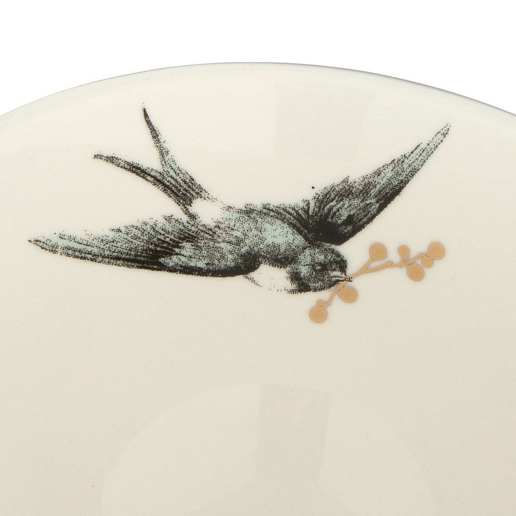 Miss Etoile Gold Oversized Tea Cup with Bird -  Party Supplies - Miss Etoile - Putti Fine Furnishings Toronto Canada - 3