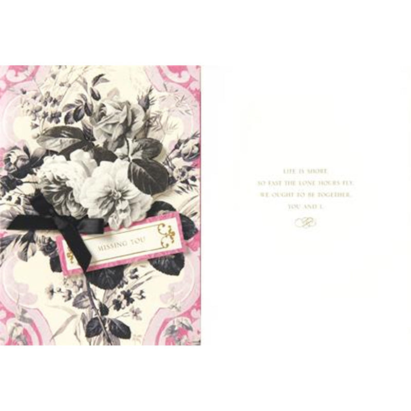 "Anna Griffin ""Thinking of You"" Greeting Card, Bella Flor, Putti Fine Furnishings"