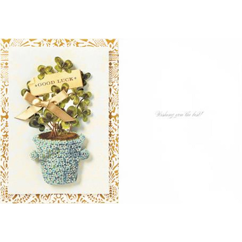 "Anna Griffin ""Good Luck"" Greeting Card, Bella Flor, Putti Fine Furnishings"