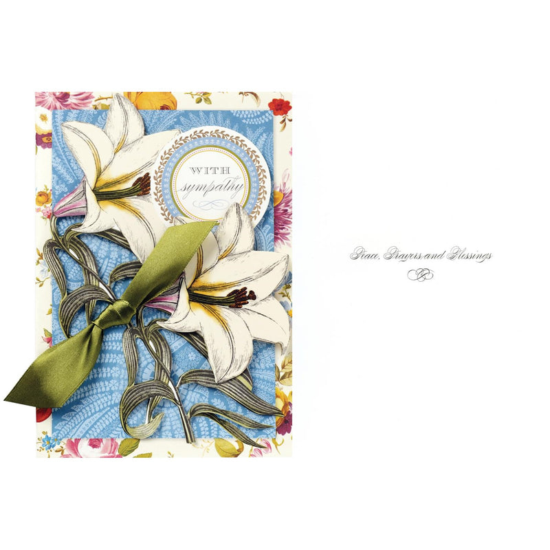 "Anna Griffin ""With Sympathy"" Greeting Card, Bella Flor, Putti Fine Furnishings"