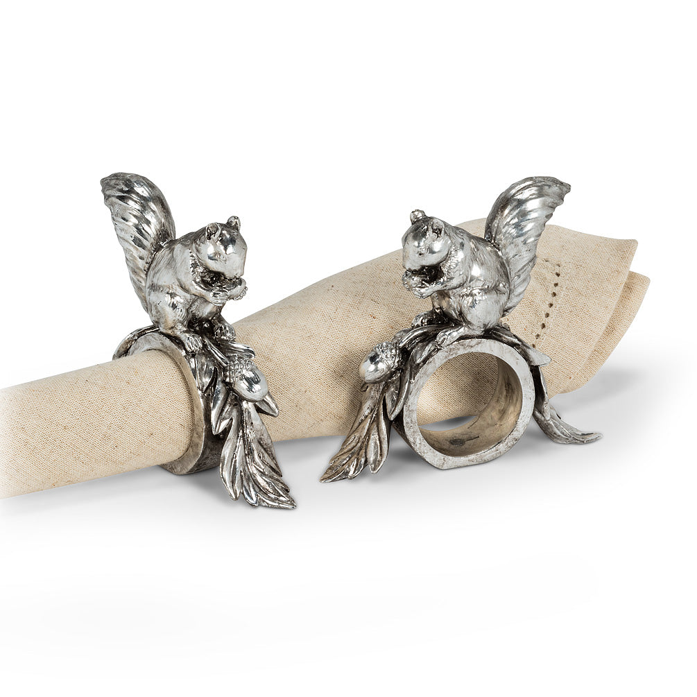 Squirrel Napkin Ring
