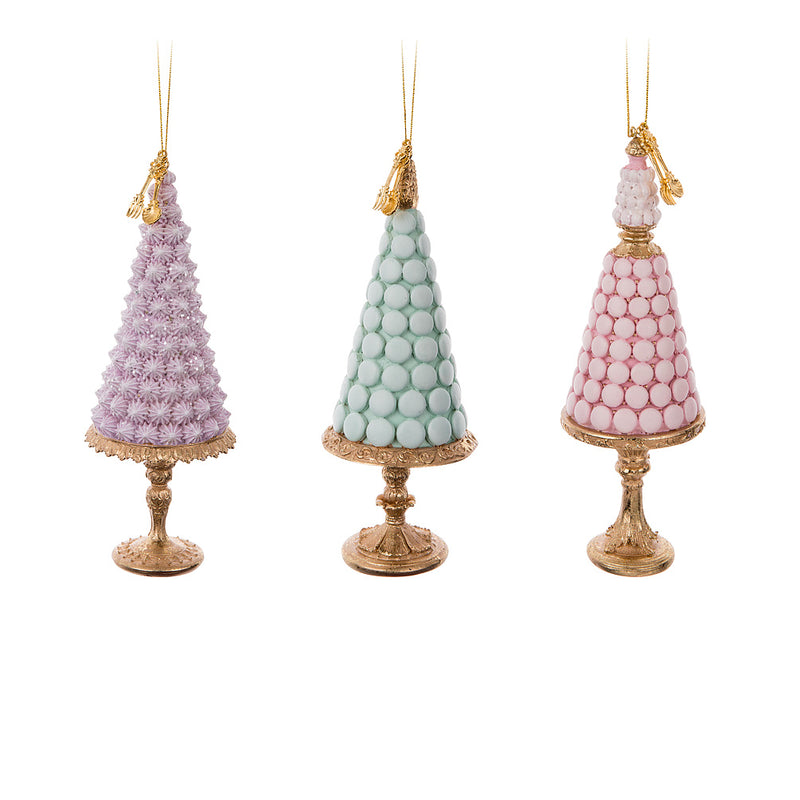 Macaron Tree Ornament - Lilac | Putti Christmas