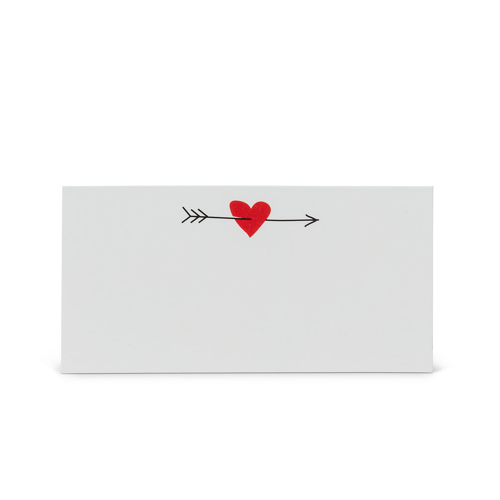 Heart and Arrow Place Cards