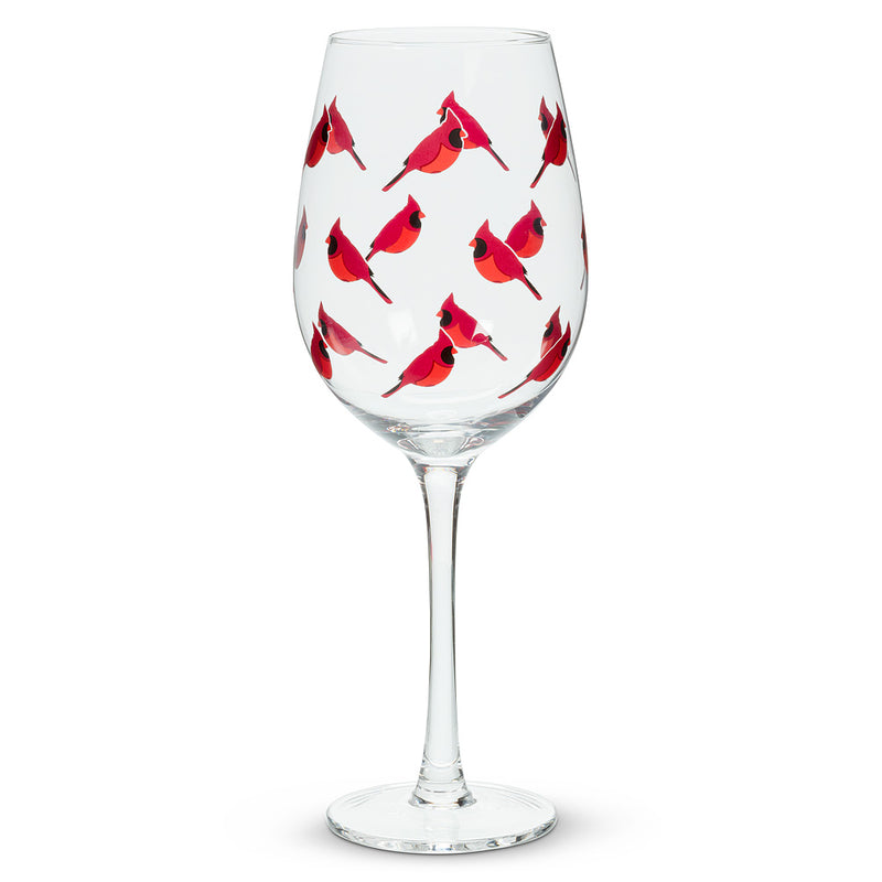 Cardinal Wine Goblet | Putti Christmas Canada