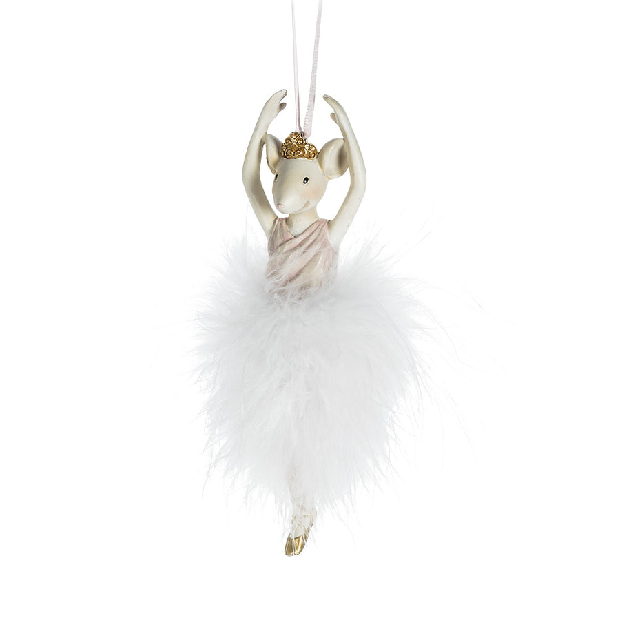 Mouse Ballerina Ornament