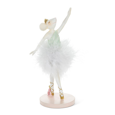 Mouse Ballerina Mint | Putti Christmas Canada