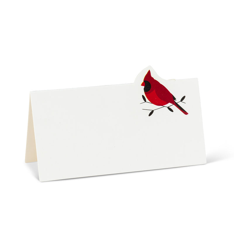 Cardinal Fold Over Place Cards