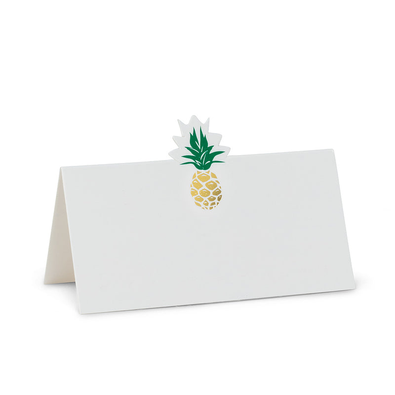 Pineapple Folded Place Cards