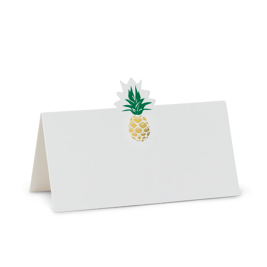Pineapple Folded Placecards